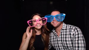 Photo booth sunglasses