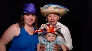 Photo booth families