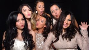 Photo booth rental provided by Picture Perfect Photobooth Rentals