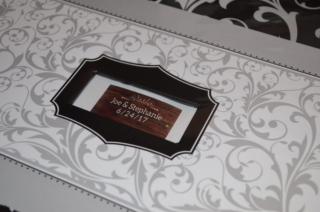 Photo strips, guest book