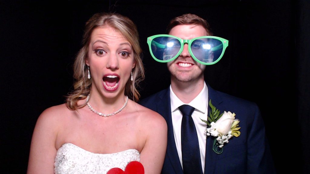 Photo booth wedding, photo booth props
