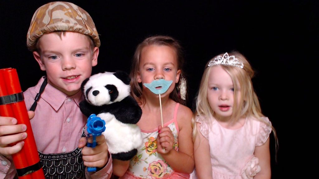 Photo booth kids, photo booth props