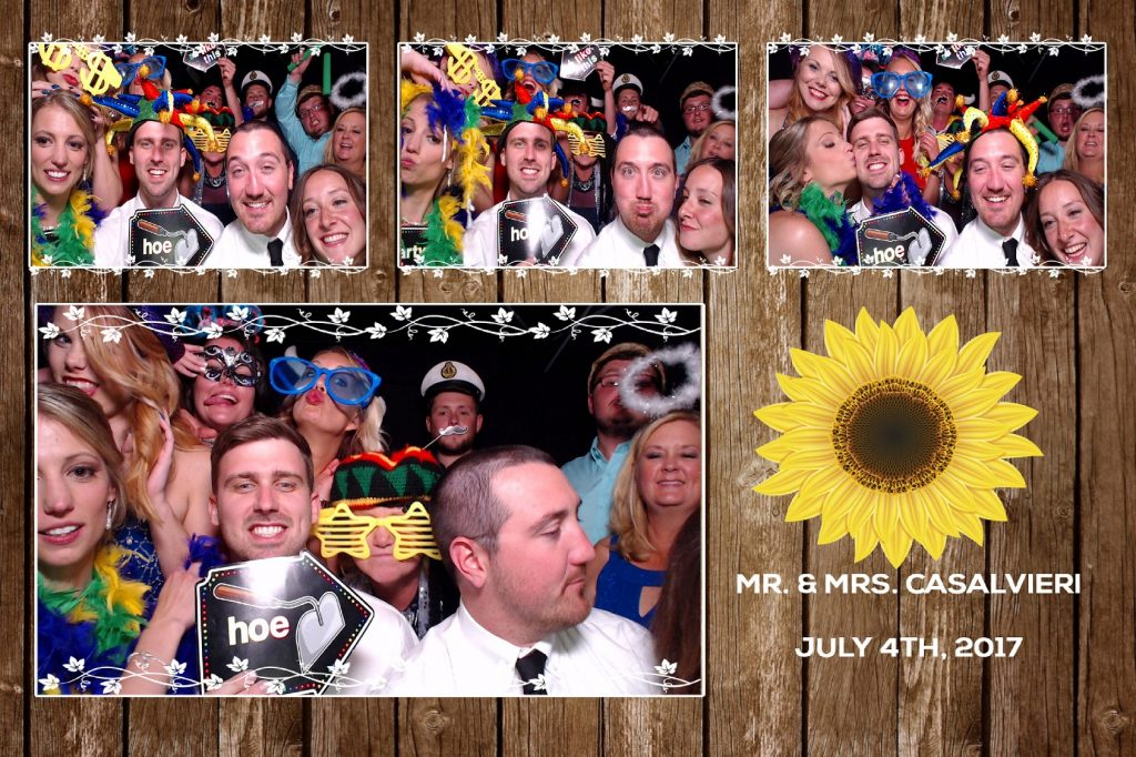 Large photo booth, photo booth prints