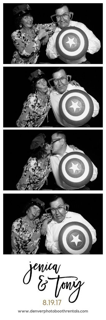 Photo booth photo strip