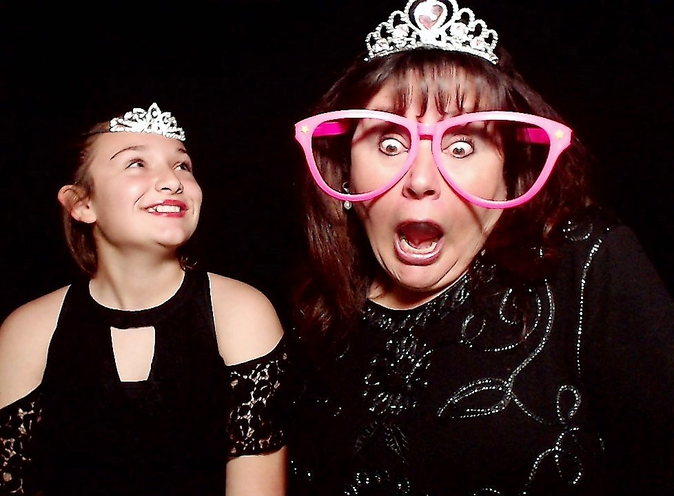 tiaras, photo booth props