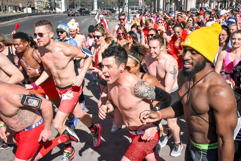 Denver Cupids Undie Run 2019
