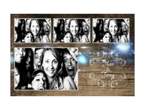 "4""x6"" Photo Booth Strip"