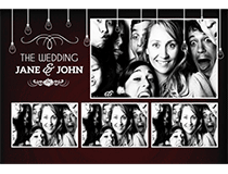"6""x8"" Photo Booth Strip"