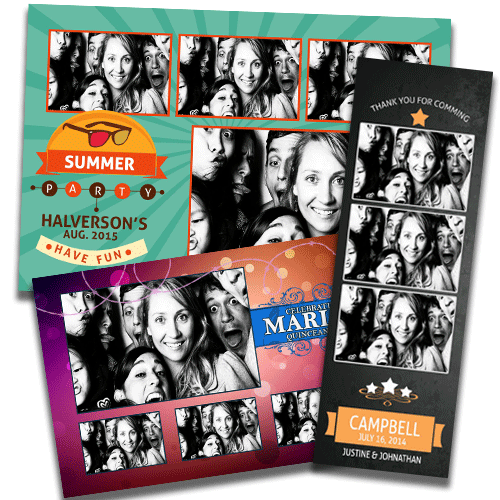 Photo Booth Template Design