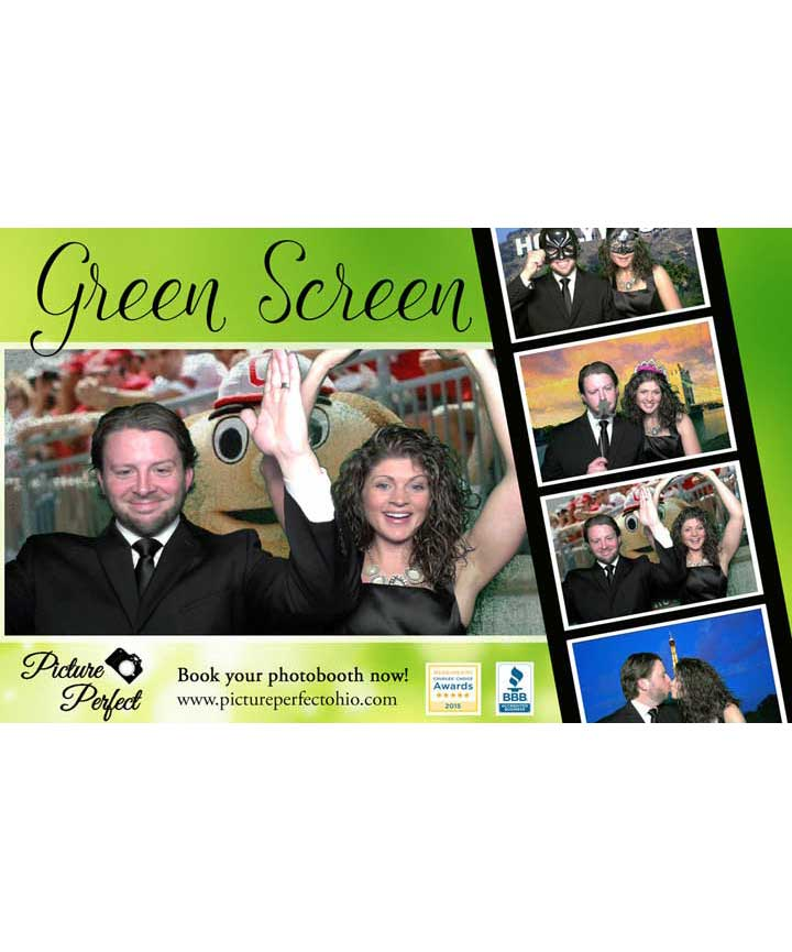 Green Screen Photo Booth Option